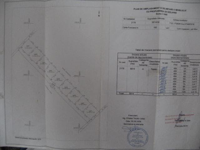Teren Intravilan Loturi Localitate Copaceni Judet Ilfov - 3