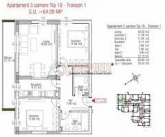 Apartament 3 camere, sector 4, Metalurgiei, Arghezi Park Residence - Imagine 3