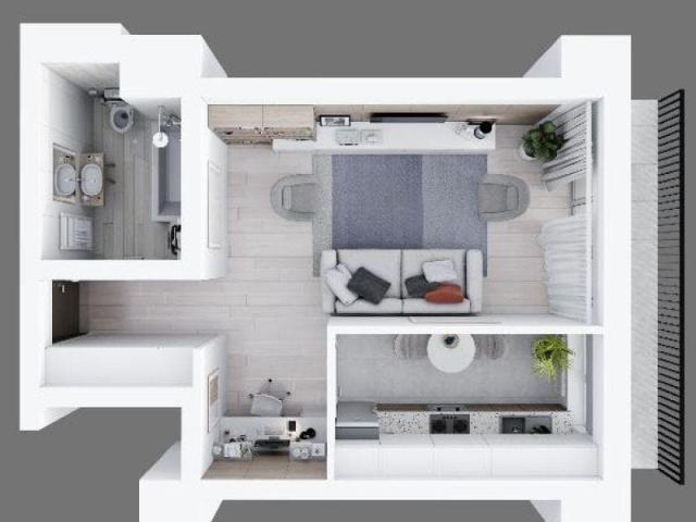 Complex Himson, Apartamente premium STUDIO, preturi promotionale - 4