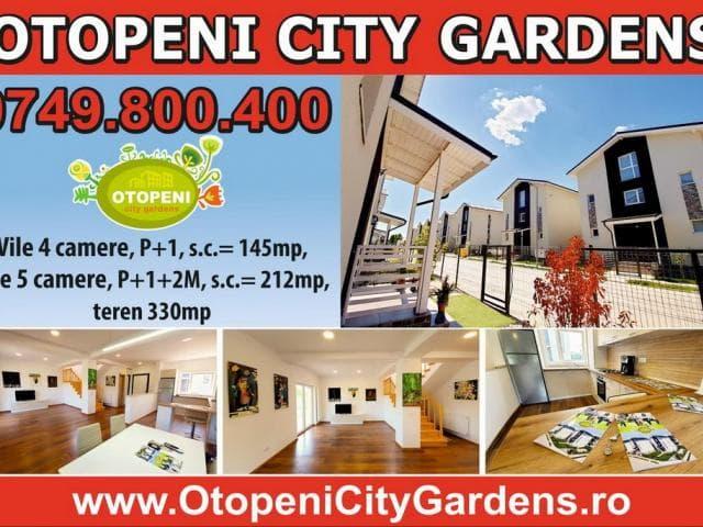 Vile 4 & 5 camere complex rezidential Otopeni City Gardens - 1