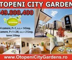 Vile 4 & 5 camere complex rezidential Otopeni City Gardens - Imagine 1