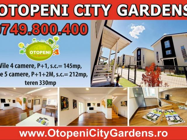 Vila 5 camere OTOPENI CITY GARDENS, 212mp, teren 330mp - 5